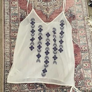 The loft tank top blouse